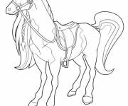 Coloriage Horseland et Pepper