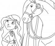 Coloriage et dessins gratuit Horseland gratuit à imprimer