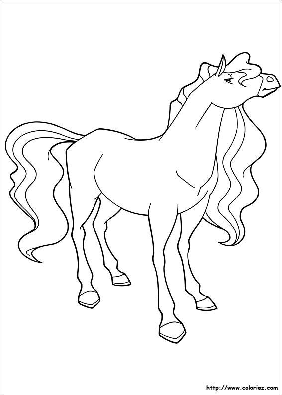Coloriage et dessins gratuits Horseland Marie à imprimer