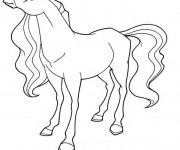 Coloriage Horseland Sarah