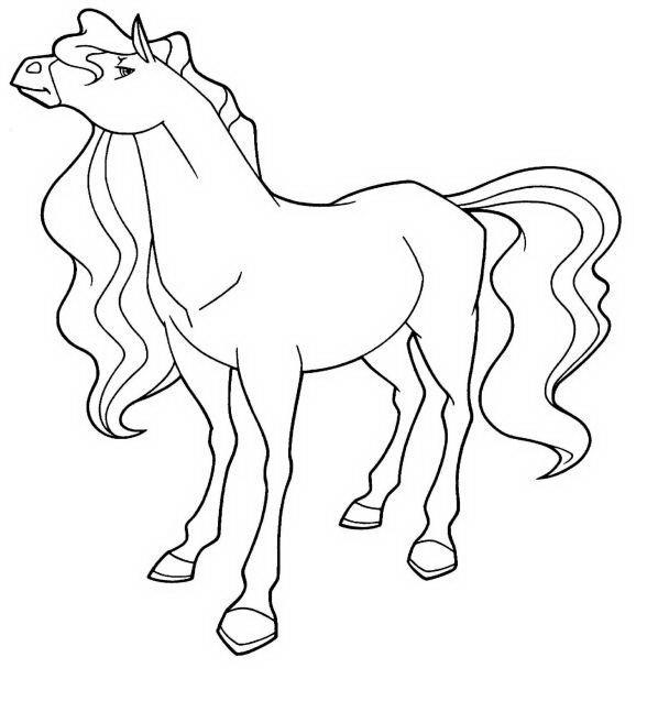 Coloriage et dessins gratuits Horseland Sarah à imprimer