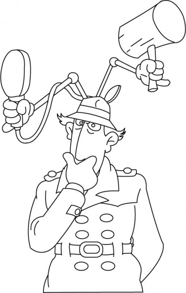 Coloriage et dessins gratuits Inspecteur Gadget en ligne à imprimer