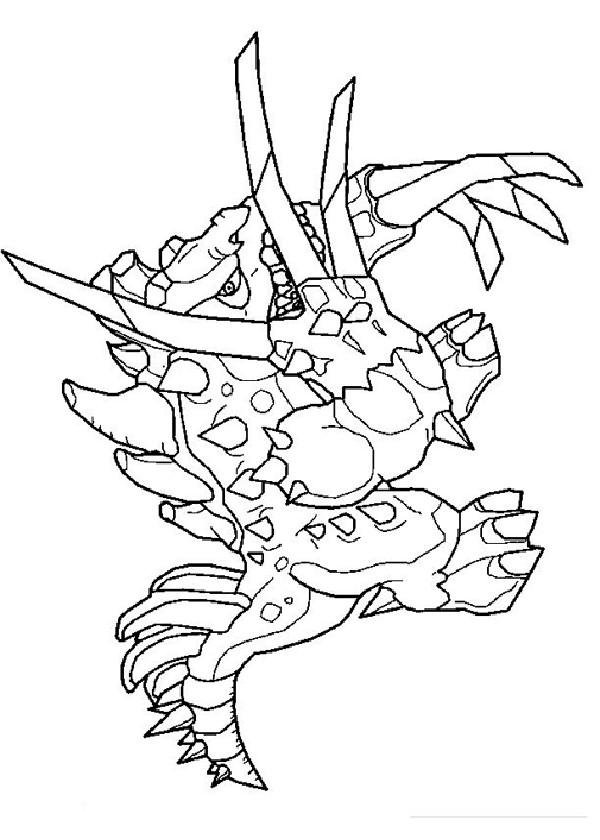 Coloriage et dessins gratuits Dessin de monstre à imprimer
