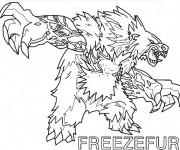 Coloriage et dessins gratuit Invizimals 21 à imprimer