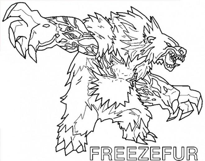 Coloriage et dessins gratuits Invizimals 21 à imprimer