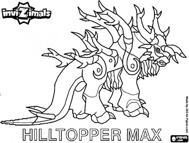 Coloriage et dessins gratuits Invizimals dessim monstre à imprimer