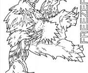 Coloriage Invizimals Freeze Fur Dragon
