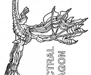 Coloriage Invizimals Spectral Dragon
