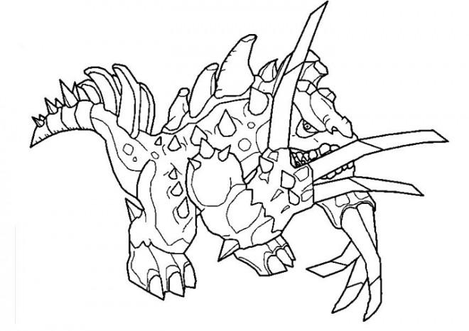 Coloriage Invizimals Star Dragon Dessin Gratuit A Imprimer