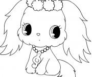Coloriage dessin  Jewelpet 1