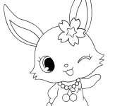 Coloriage Jewelpet 10