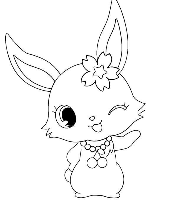 Coloriage et dessins gratuits Jewelpet 10 à imprimer