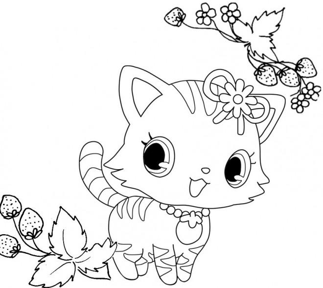 Coloriage et dessins gratuits Jewelpet 11 à imprimer