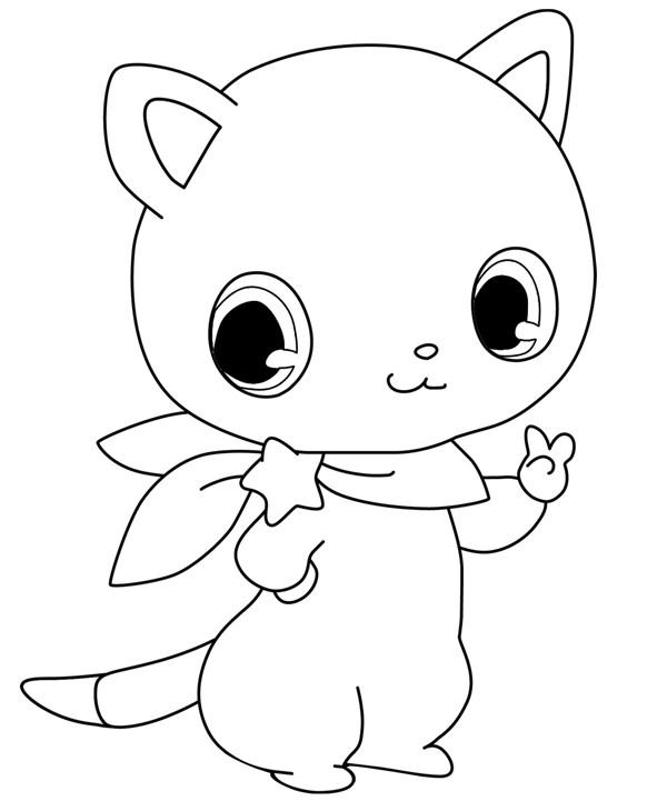 Coloriage et dessins gratuits Jewelpet 12 à imprimer