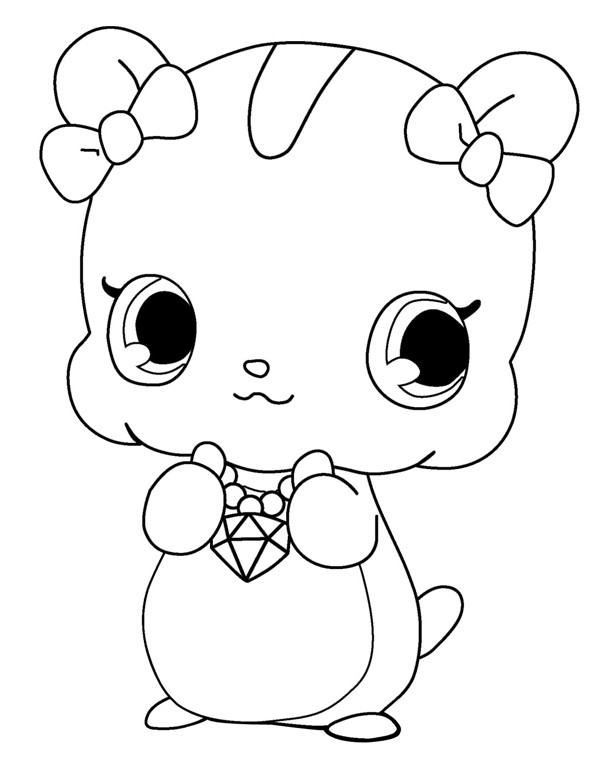 Coloriage et dessins gratuits Jewelpet 14 à imprimer