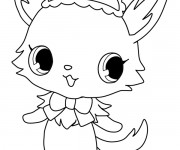 Coloriage Jewelpet 15