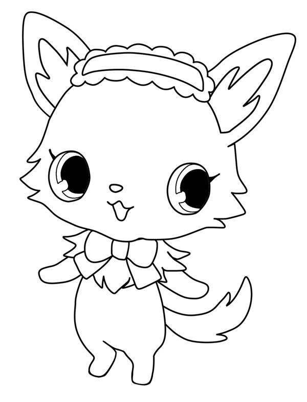Coloriage et dessins gratuits Jewelpet 15 à imprimer