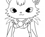 Coloriage Jewelpet 17