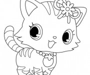 Coloriage Jewelpet 18