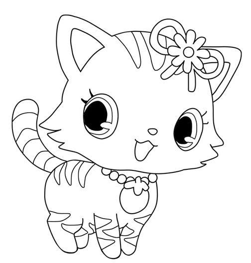 Coloriage et dessins gratuits Jewelpet 18 à imprimer