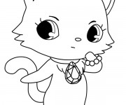 Coloriage Jewelpet 20