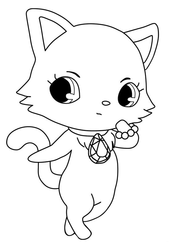 Coloriage et dessins gratuits Jewelpet 20 à imprimer