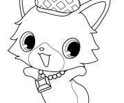 Coloriage Jewelpet 21