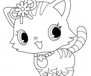 Coloriage Jewelpet 22