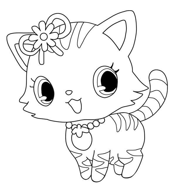 Coloriage et dessins gratuits Jewelpet 22 à imprimer