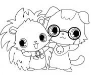 Coloriage et dessins gratuit Jewelpet 24 à imprimer