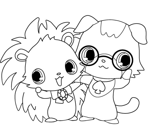 Coloriage et dessins gratuits Jewelpet 24 à imprimer