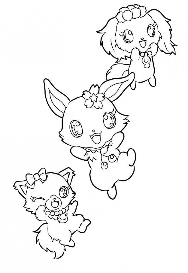 Coloriage et dessins gratuits Jewelpet 28 à imprimer
