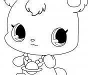 Coloriage dessin  Jewelpet 3
