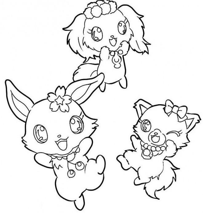 Coloriage et dessins gratuits Jewelpet 34 à imprimer