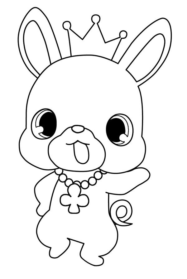 Coloriage et dessins gratuits Jewelpet 37 à imprimer