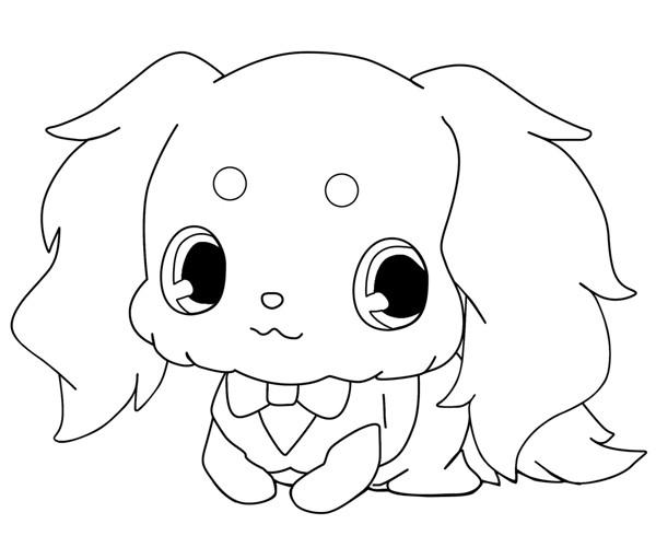 Coloriage et dessins gratuits Jewelpet 38 à imprimer