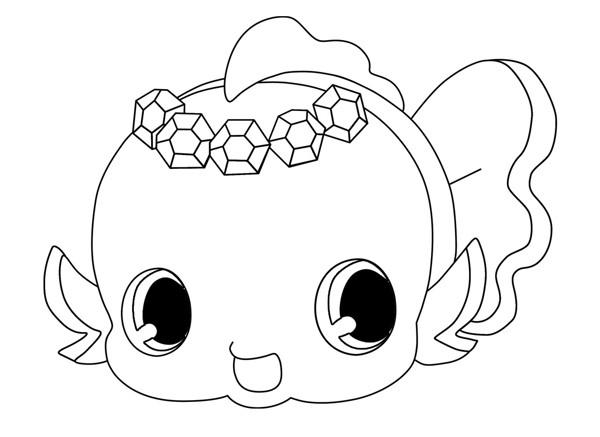 Coloriage et dessins gratuits Jewelpet 39 à imprimer