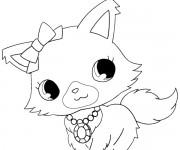 Coloriage dessin  Jewelpet 4
