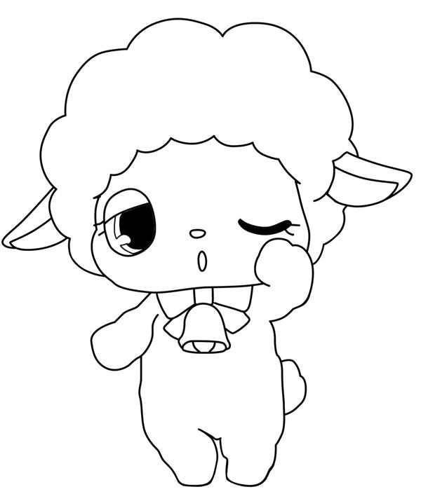 Coloriage et dessins gratuits Jewelpet 6 à imprimer