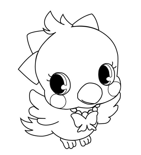Coloriage et dessins gratuits Jewelpet 8 à imprimer