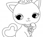 Coloriage Jewelpet 9