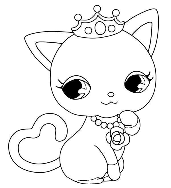 Dessin Anim 9 Ans: Coloriage Jewelpet 9 Dessin Gratuit à Imprimer