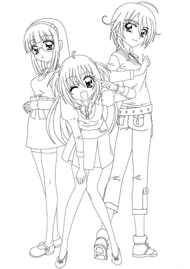 Coloriage et dessins gratuits Kilari  et ses meilleures amis à imprimer