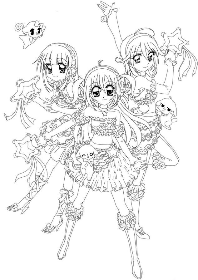 Coloriage manga de kilari imprimer dessin gratuit imprimer - Site dessin manga ...