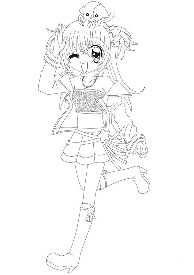 Coloriage manga kilari gratuit dessin gratuit imprimer - Kilari dessin ...