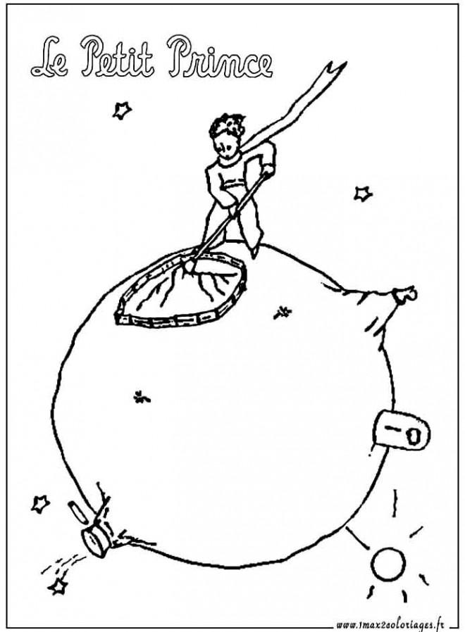 Coloriage et dessins gratuits Le petit prince 14 à imprimer