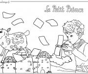 Coloriage et dessins gratuit Le petit prince 8 à imprimer