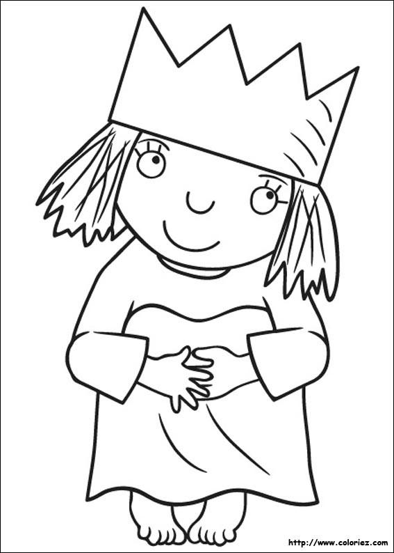 Coloriage et dessins gratuits Le petit prince coloriage princesse à imprimer