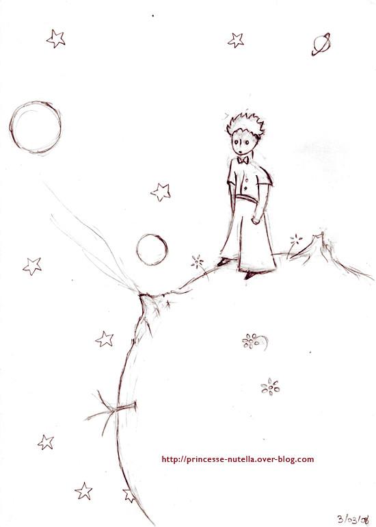 Coloriage et dessins gratuits Le petit prince de saint exupéry à imprimer