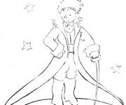 Coloriage et dessins gratuit Le petit prince en ligne à imprimer